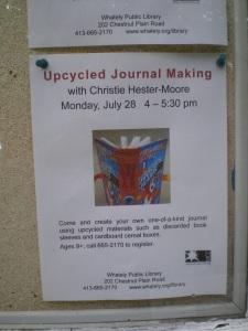 Journal workshop flyer