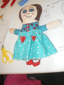 Doll Making class pictures 1