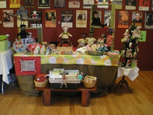 My table display at Markers Market 2014!