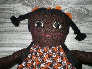 A  finished doll.